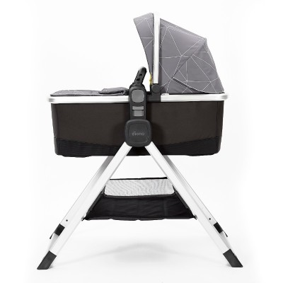 Diono Quantum 2 Carrycot and Travel Stand - Gray Linear