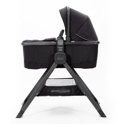 Diono Quantum 2 Carrycot and Travel Stand - Black Cube