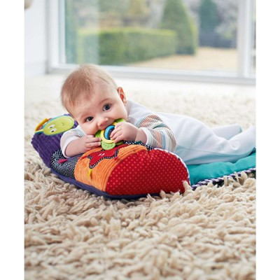 Mamas & Papas Babyplay - Tummy Time Activity Toy & Rug
