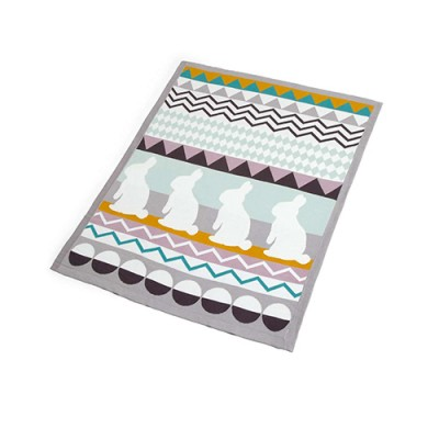 Mamas & Papas Patternology Knitted Blanket - Bunny