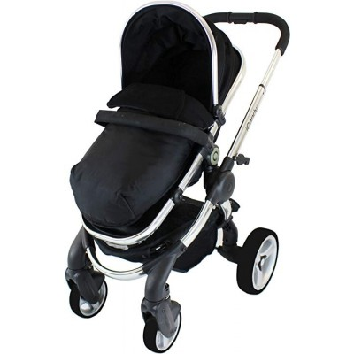 iCandy Peach Stroller Footmuff - Blackjack