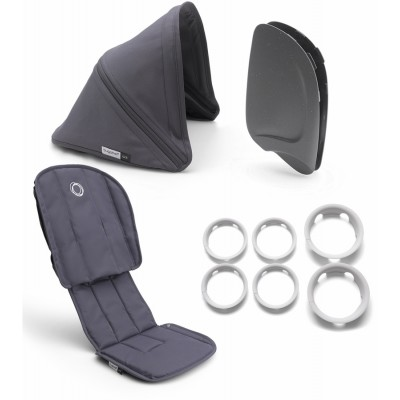 Bugaboo Ant Style Set Complete Steel Blue - Steel Blue