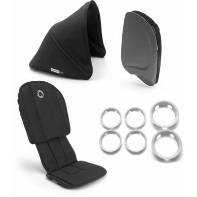 Bugaboo Ant Style Set Complete Black - Black