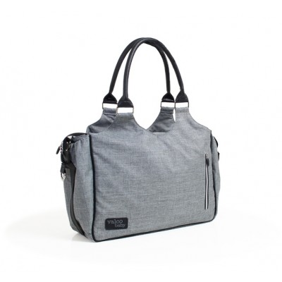 Valco Baby Mothers Bags / Diaper Bag - Grey Marle