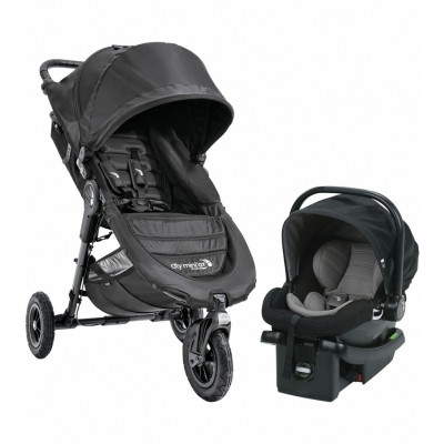 2017 Baby Jogger City Mini GT Travel System - Black