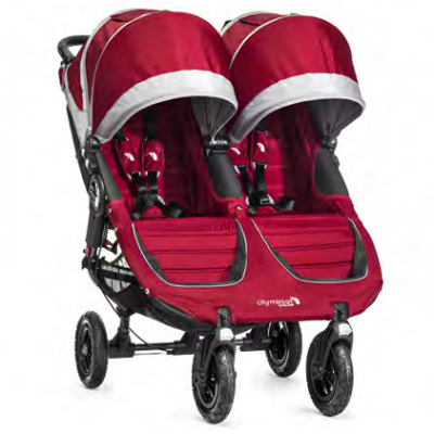 Baby Jogger City Mini GT Double Red Pre-Order