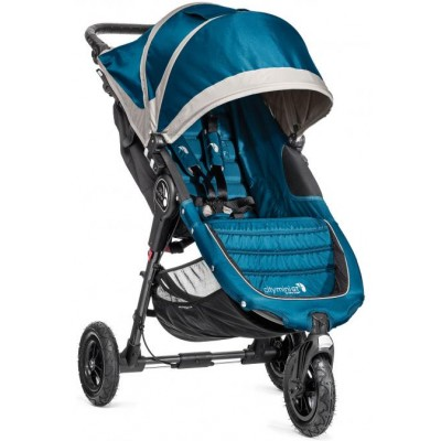 Baby Jogger City Mini GT Easy Fold Stroller Teal Gray