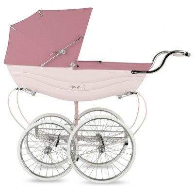 Silver Cross Balmoral Hand-Crafted Pram Stroller Pre-Order Pink