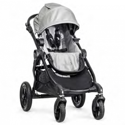 Baby Jogger City Select Black/Silver Pre-Order