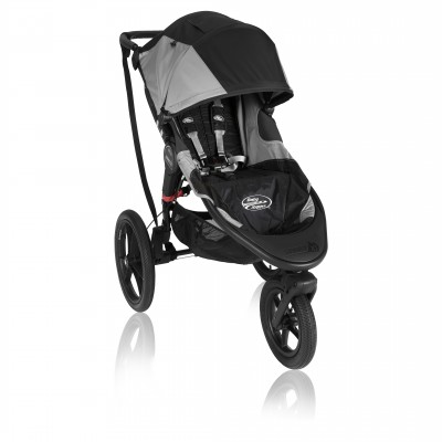 Baby Jogger Summit X3 Single Stroller Black / Gray