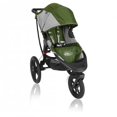 Baby Jogger Summit X3 Single Stroller Green / Gray