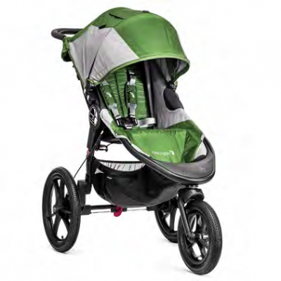 Baby Jogger Summit X3 Green/Gray Pre-Order
