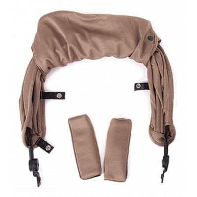 Baby Monster Kuki Canopy - Taupe