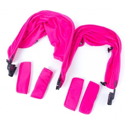 Baby Monster Easy Twin 3S Reversible Canopy - Fuchsia