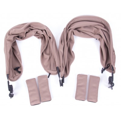 Baby Monster Easy Twin 3S Reversible Canopy - Taupe