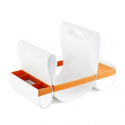 Boon Loop Diaper Caddy - Orange