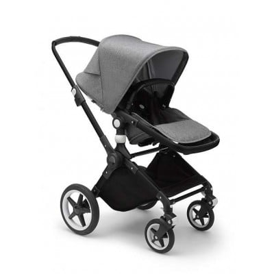 Bugaboo Lynx Stroller Mineral Collection Style Set Complete - Alu/Light Grey