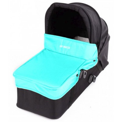Baby Monster Carrycot with Lid - Caribbean