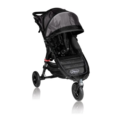 Baby Jogger City Mini GT Lightweight Easy Fold Stroller Black/Black