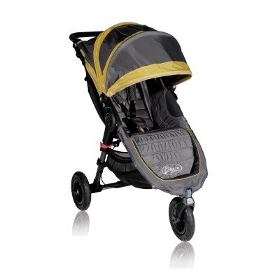 Baby Jogger City Mini GT Lightweight Easy Fold Stroller Shadow/Bamboo