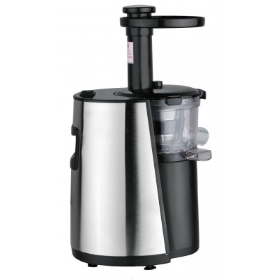 Chef's Star Slow Masticating Juicer Stainless Steel - Black