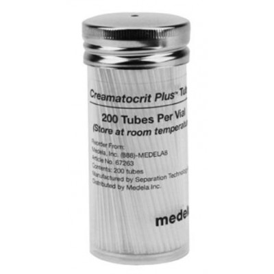 Medela Creamatocrit Plus™ Collection Tubes - 200 Count