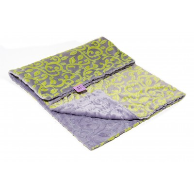 Magnolia Line Minky Ultra Soft Baby Blanket - Cuddle Citron