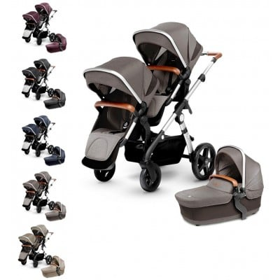 Silver Cross Wave Double Stroller (Wave Board Compatible)