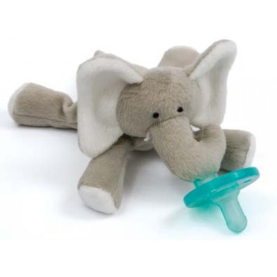 WubbaNub Baby Elephant Infant Pacifier