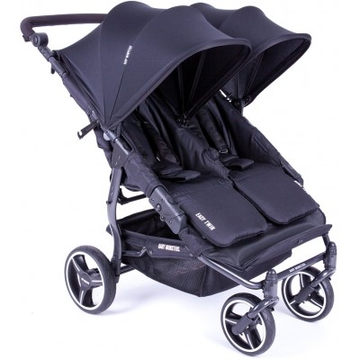 Baby Monster Stroller 3.0S ( inc Accesories pack+frot bar+ rain cover) - Black
