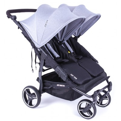 Baby Monster Stroller 3.0S ( inc Accesories pack+frot bar+ rain cover) - Gre