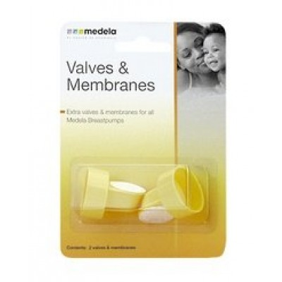 Medela Extra Valve & Membranes For All Medela Breastpumps - (2 Pack)