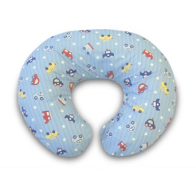 Boppy Support Pillow With Cotton Blend Slipcover - Cars