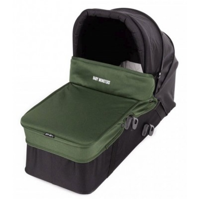 Baby Monster Carrycot with Lid - Forest