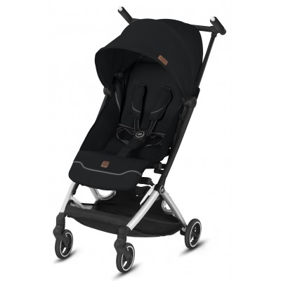 GB Pockit Plus All-City Compact Stroller - Velvet Black