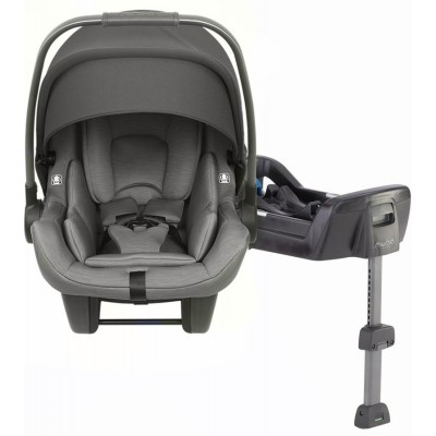 2019 Nuna Pipa Lite Infant Car Seat with Base - Granite