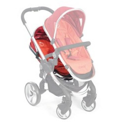 iCandy Peach Stroller Second Seat - Tomato
