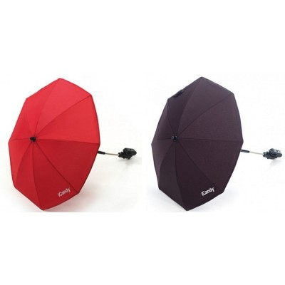 iCandy Parasol - BlackJack or Tomato Colors