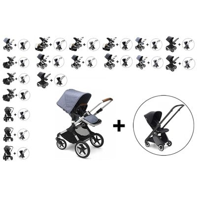 Bugaboo Fox Stoller with Ant Stroller