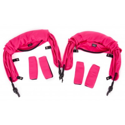 Baby Monster Kuki Twin Canopy - Fuchsia