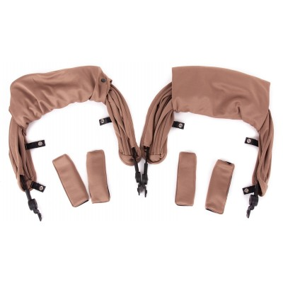 Baby Monster Kuki Twin Canopy - Taupe