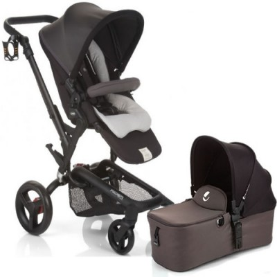 Jane Rider Stroller & Micro Bassinet - Shadow
