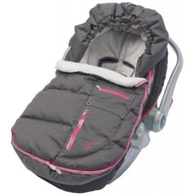 JJ Cole Collections Arctic Bundle Me Toddler - Charcoal / Sassy