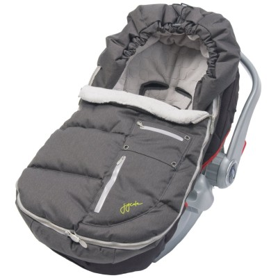 JJ Cole Collections Arctic Bundle Me Toddler - Charcoal / Silver