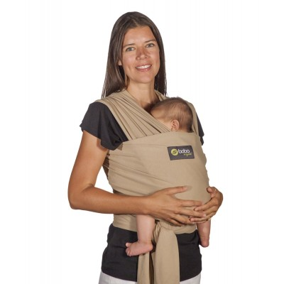 Boba Wrap Style Baby Carrier Purple