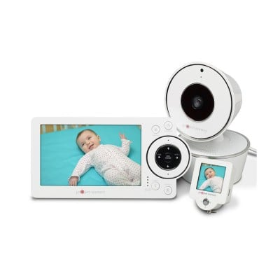 Project Nursery Deluxe HD Video Baby Monitor System