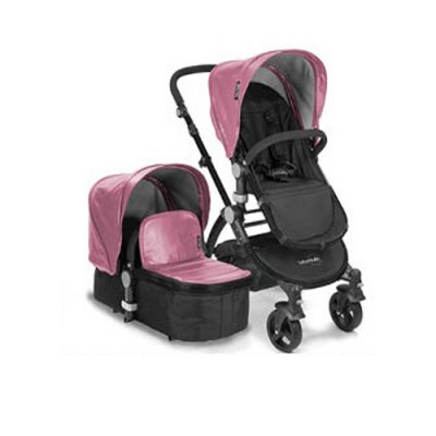 Baby Roues letour Lux Pink - Black Frame