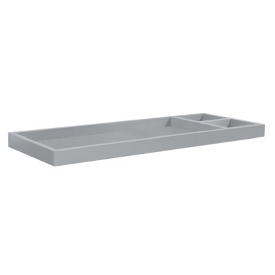 Babyletto Universal Wide Removable Changing Tray - Grey Finish