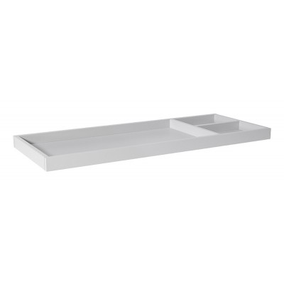 Babyletto Universal Wide Removable Changing Tray - Fog Grey