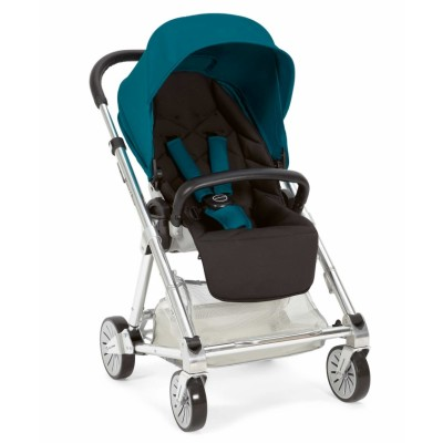Mamas & Papas Urbo Ultra Sleek Stroller - Turquoise Black